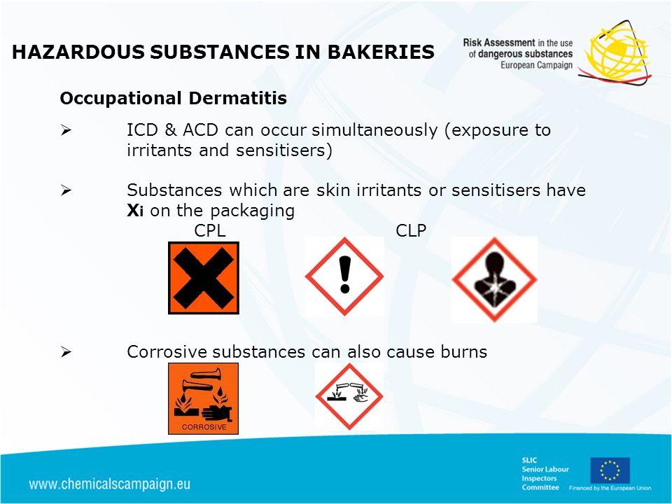 HAZARDOUS SUBSTANCES IN BAKERIES Controls for Flour / Bakery Dust (1) What is a Control Measure.