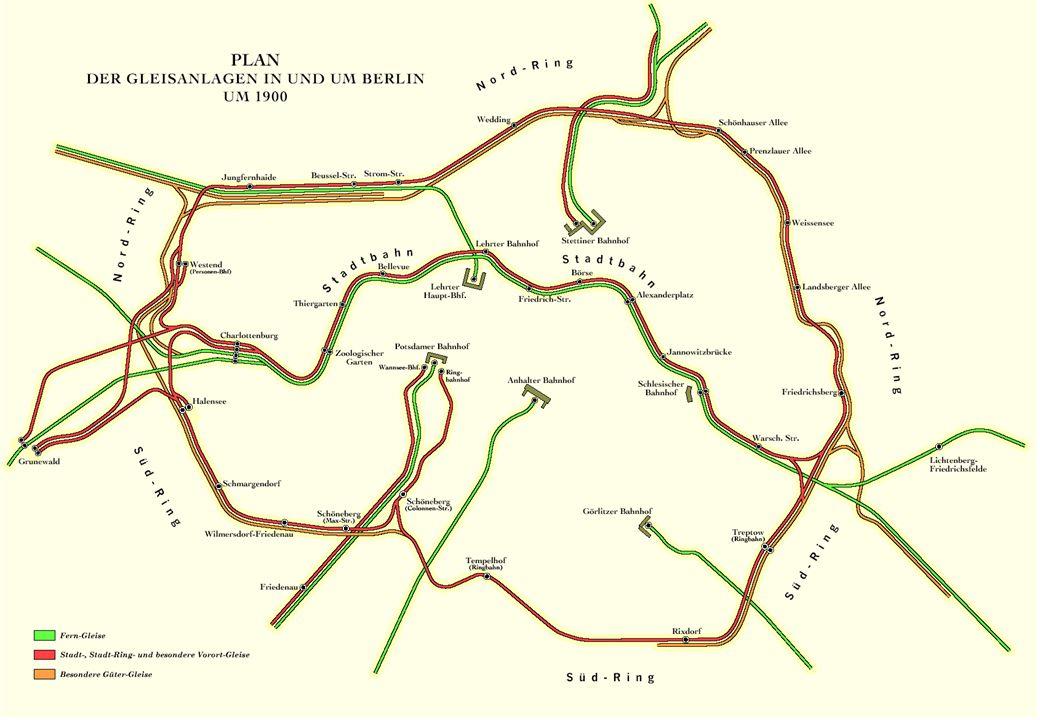 Das Berliner Bahn-Konzept von 1900 hatte eine entscheidende Lücke