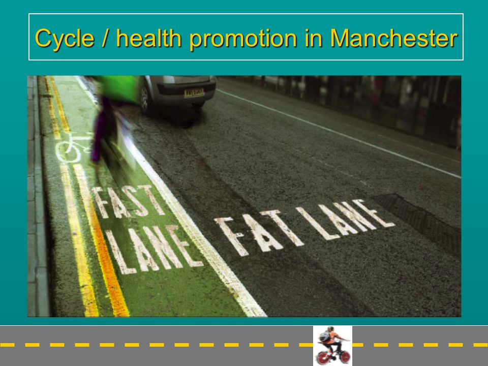 Cycle / health promotion in Manchester