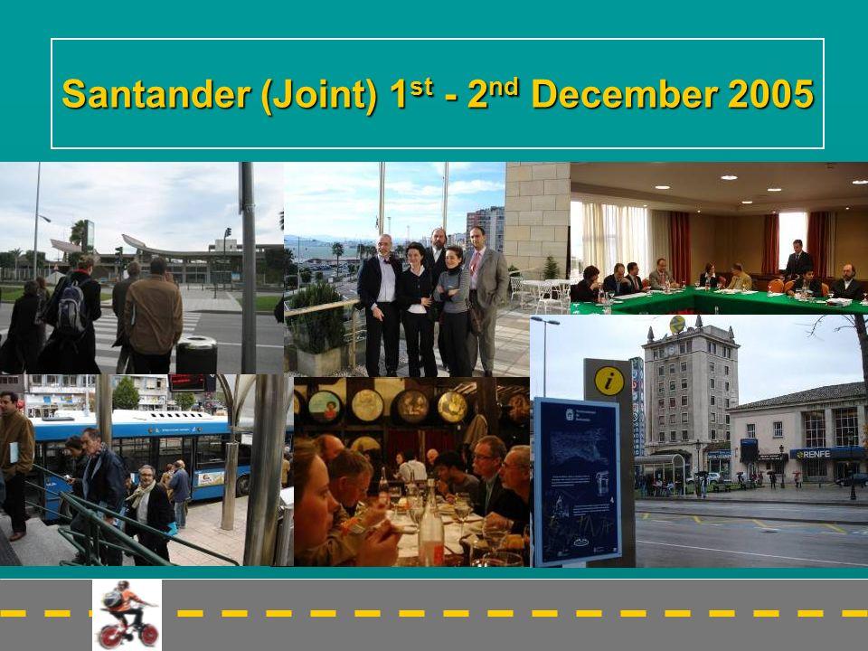 Santander (Joint) 1 st - 2 nd December 2005