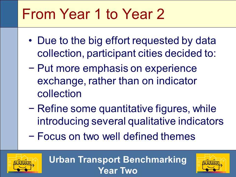Urban Transport Benchmarking Year Two PT trip length and pop. density