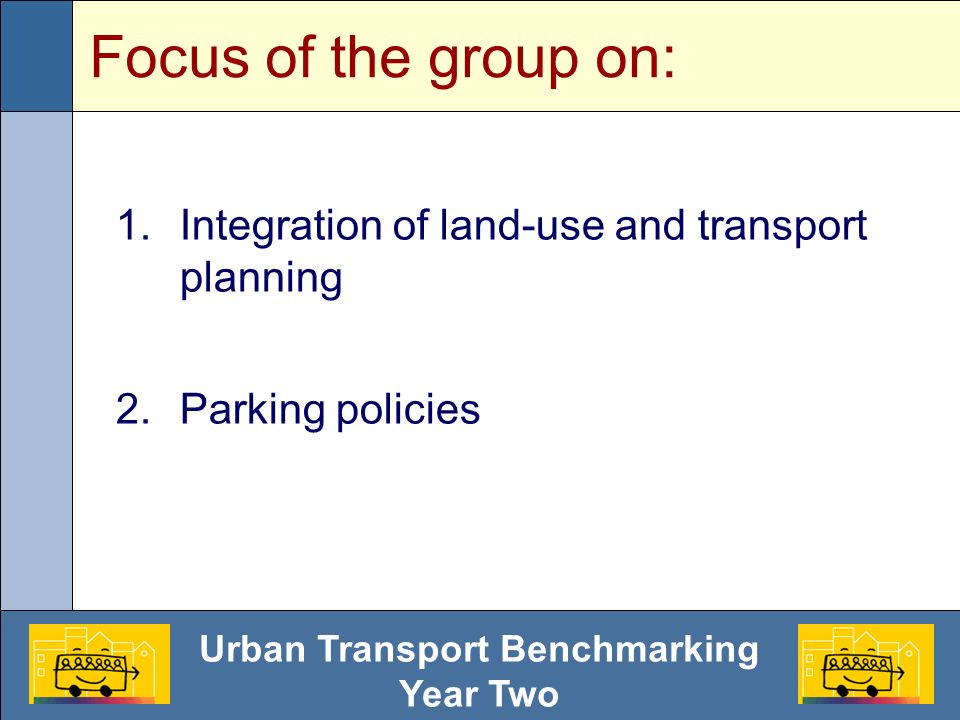 Urban Transport Benchmarking Year Two Policy aimed at increasing cost of car parking?