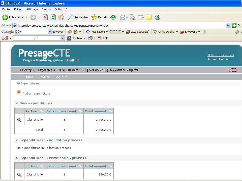 PRESAGE CTE FINANCIAL ADMINISTRATION