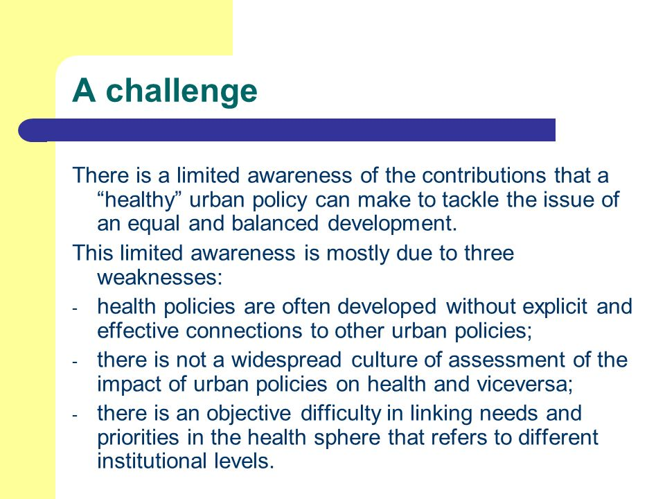 To answer to the challenge, BHC has been designed around three main themes.