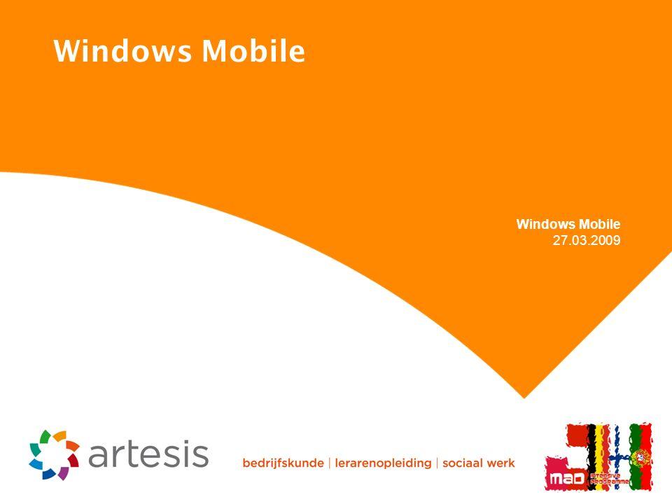 Windows Mobile 27.03.2009