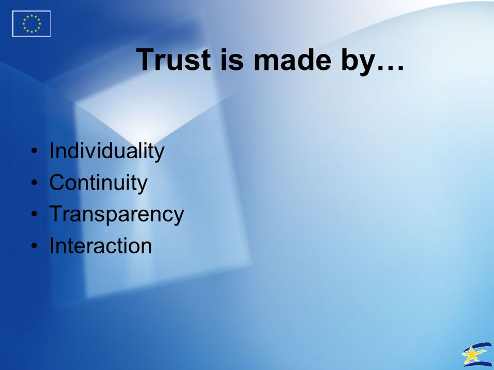 Trust How is it established?