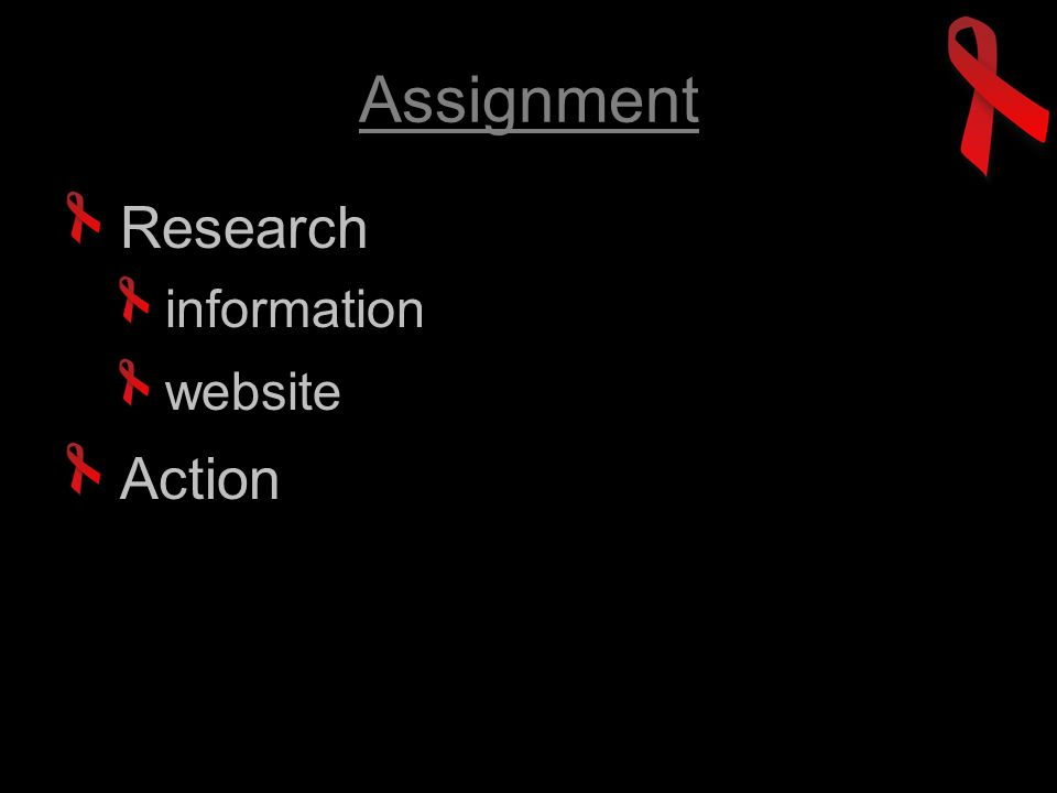 Assignment Research information website Action