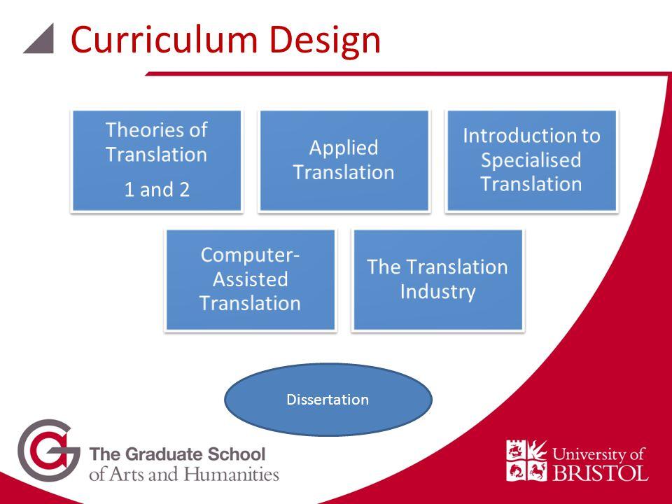Curriculum Design Dissertation