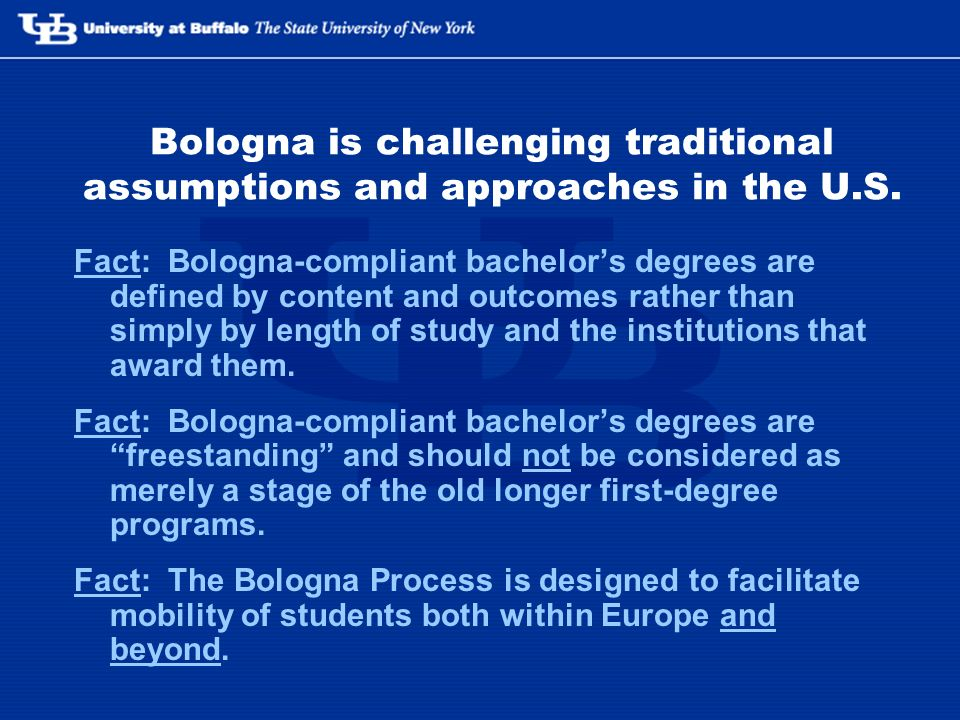 Bologna is challenging traditional assumptions and approaches in the U.S.