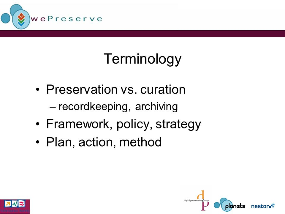Terminology Preservation vs.