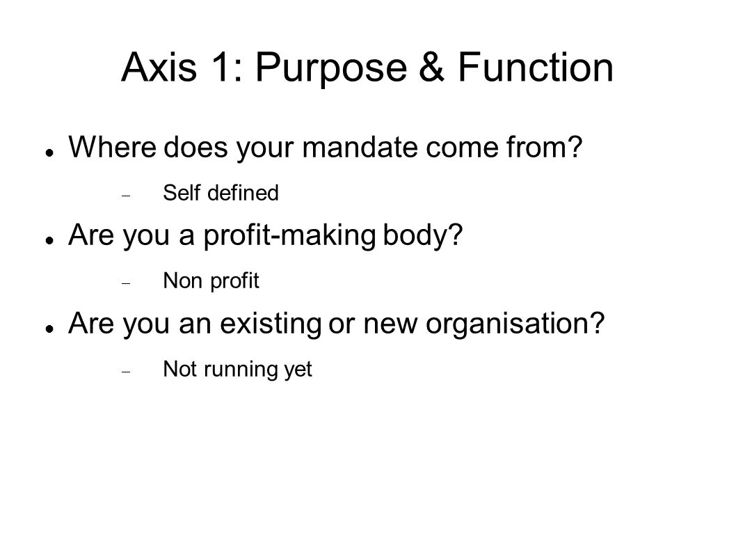 Axis 2: Scale of Repository What amount of digital materials do you archive.