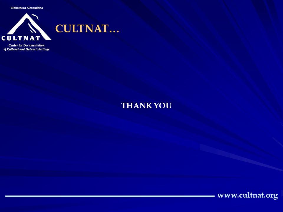 www.cultnat.org CULTNAT… THANK YOU