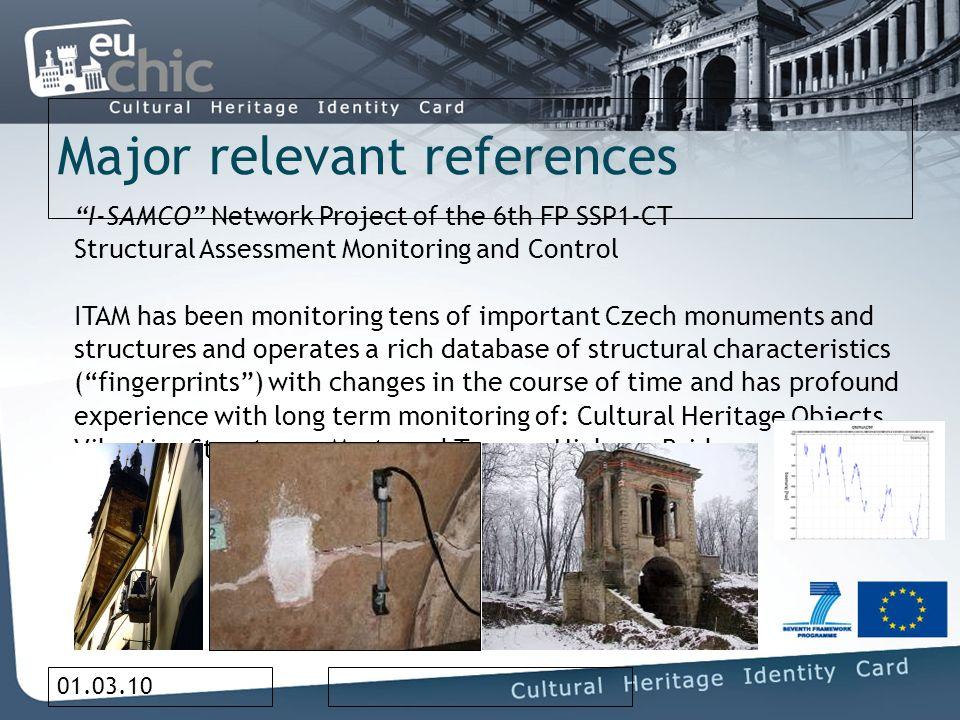 01.03.10 Project Team Dr.Miloš F. DRDÁCKÝ, director of ITAM Dr.