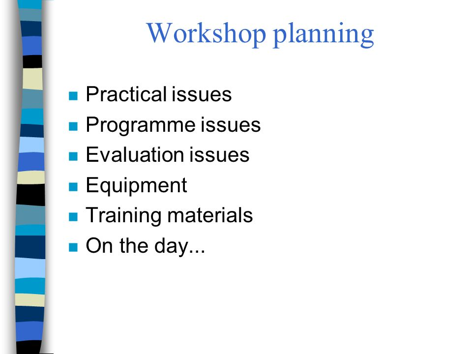 Sharing training tips and resources n Examples from England: –National Electronic Library for Health http://www.nelh.nhs.uk/librarian/info_skills.asp http://www.nelh.nhs.uk/dlnet/ –Cochrane Library http://www.york.ac.uk/inst/crd/cochlib.htm n How can you share your resources and tips with others?