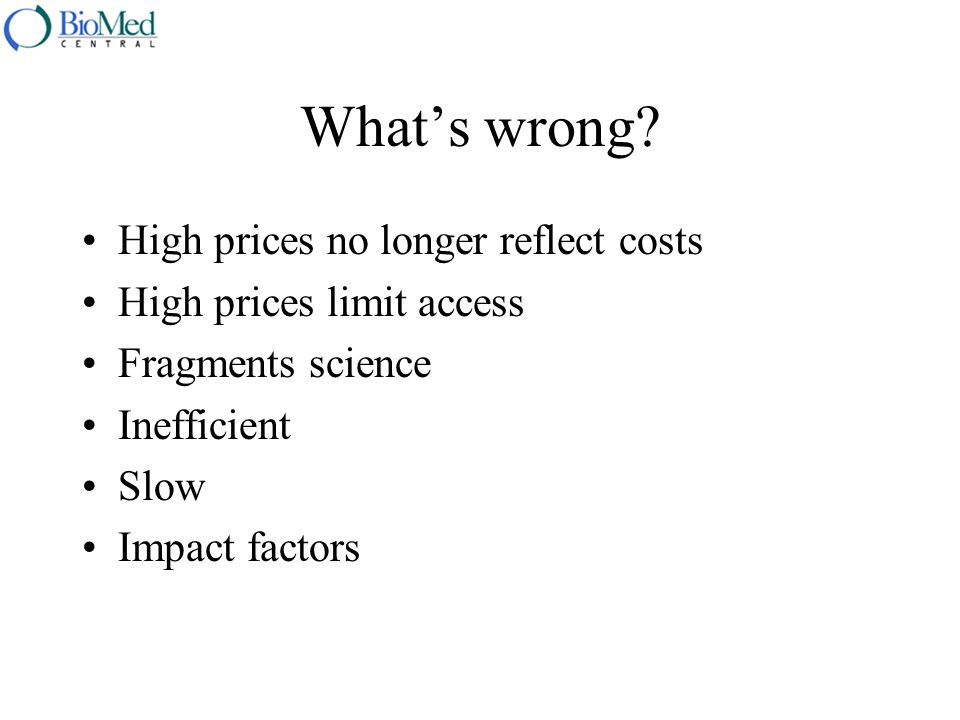 The trouble with impact factors Based on journals not articles Not good for applied sciences Not good for small fields