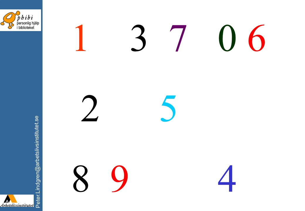 1 3 7 0 6 2 5 8 9 4