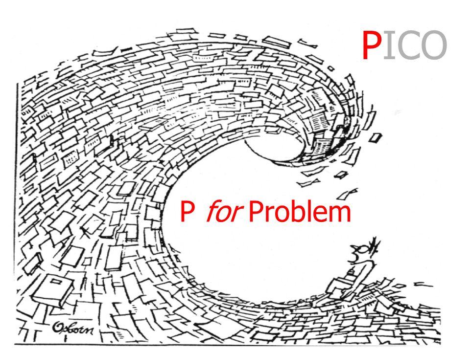 I for Intervention Teaching information handling strategies PICO