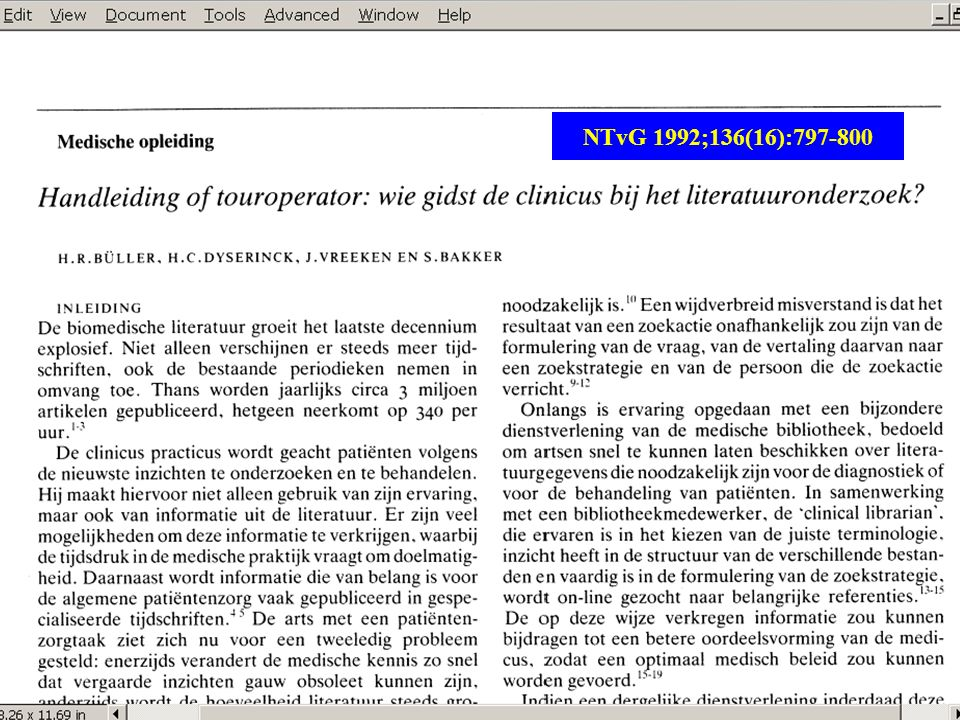 NTvG 1992;136(16):797-800