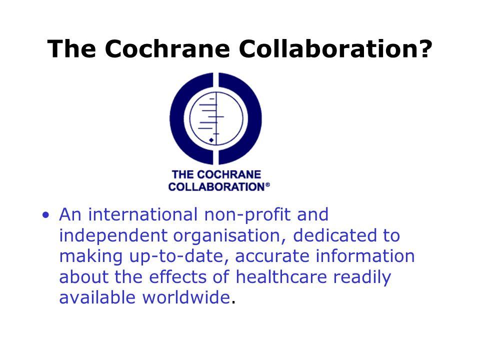 The Cochrane Collaboration.