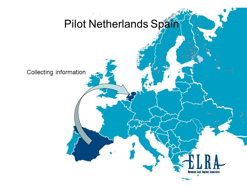 Pilot Netherlands Spain Collecting information