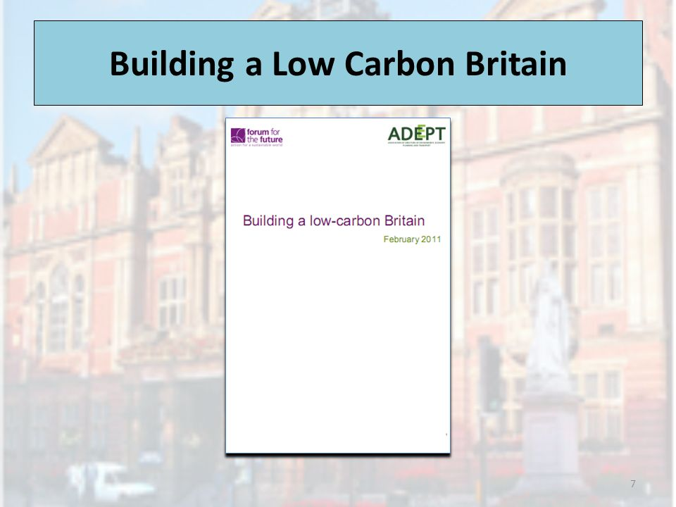 Low Carbon Britain - Scenario 3 Emergency State Control - where the state replaces the market as the driver of change with economies forcibly reorientated in favour of carbon reduction.