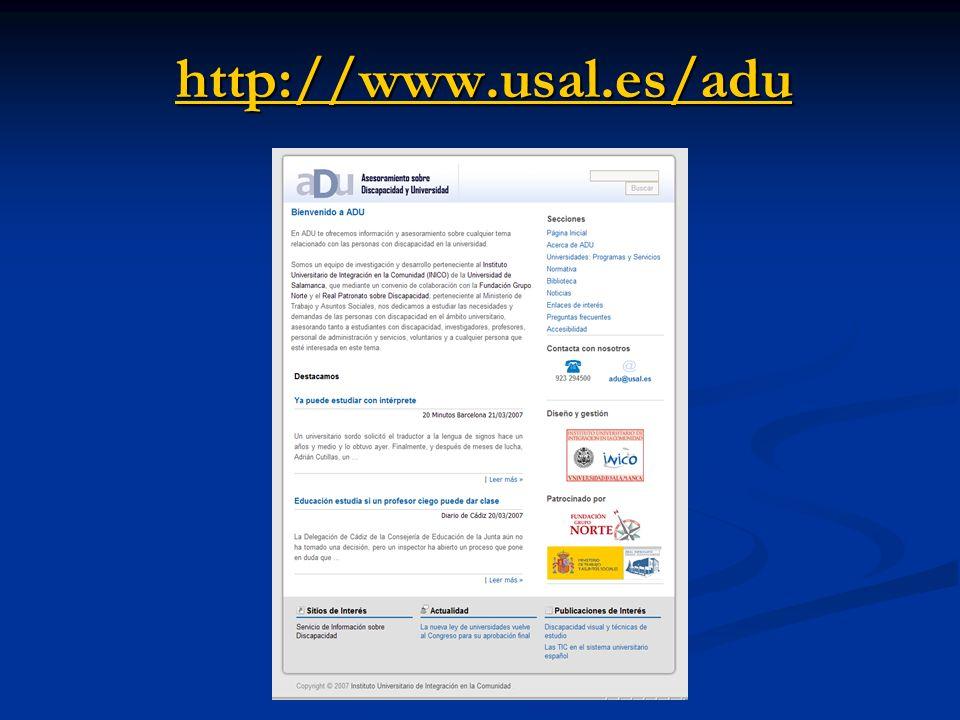http://www.usal.es/adu