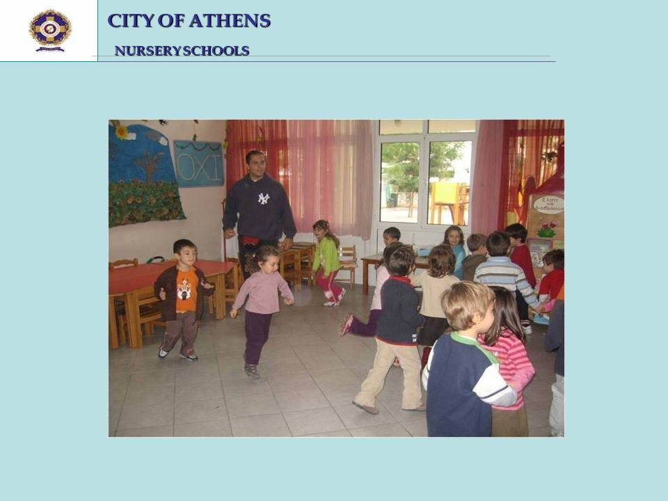 CITY OF ATHENS CITY OF ATHENS NURSERY SCHOOLS NURSERY SCHOOLS
