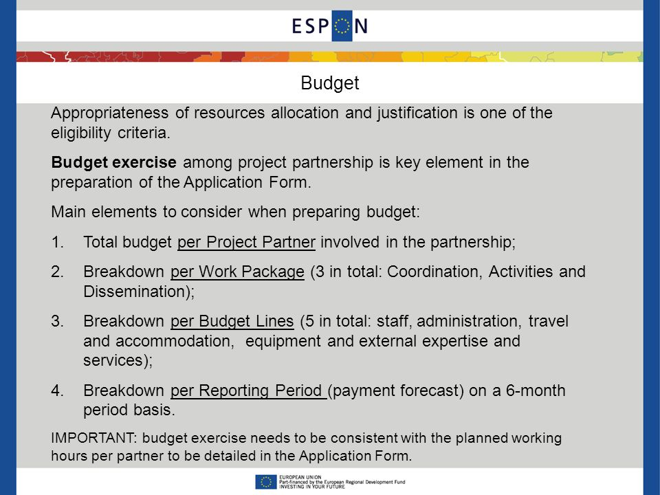 Budget lines BL1: Staff: Costs only for personnel employed based on actual salary rate on a yearly basis and number of hours actually worked for the project evidenced by timesheets.