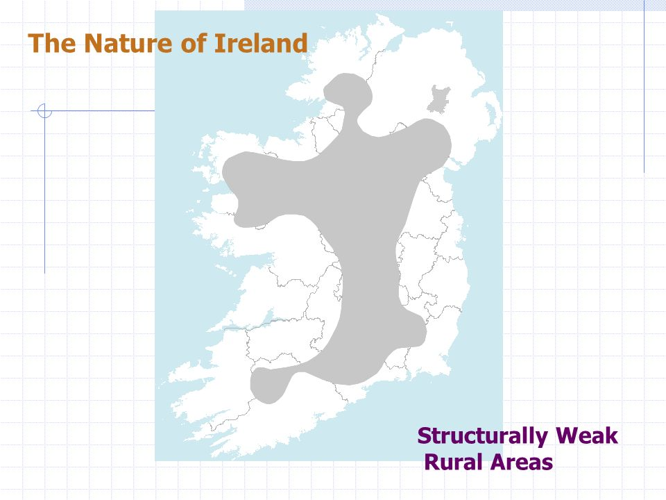 The Nature of Ireland Structurally Weak Rural Areas