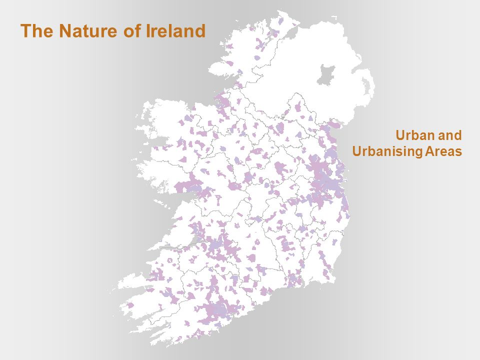The Nature of Ireland Urban and Urbanising Areas