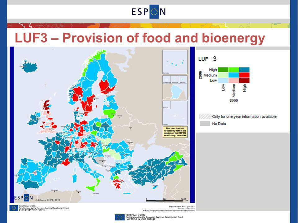LUF3 – Provision of food and bioenergy 3