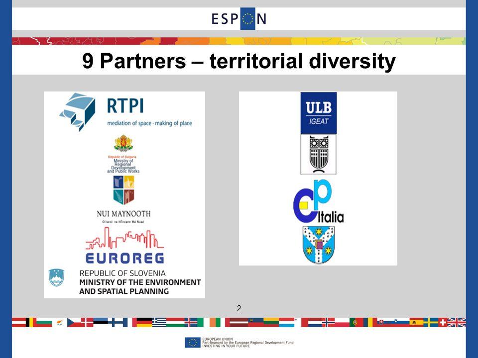 9 Partners – territorial diversity 2
