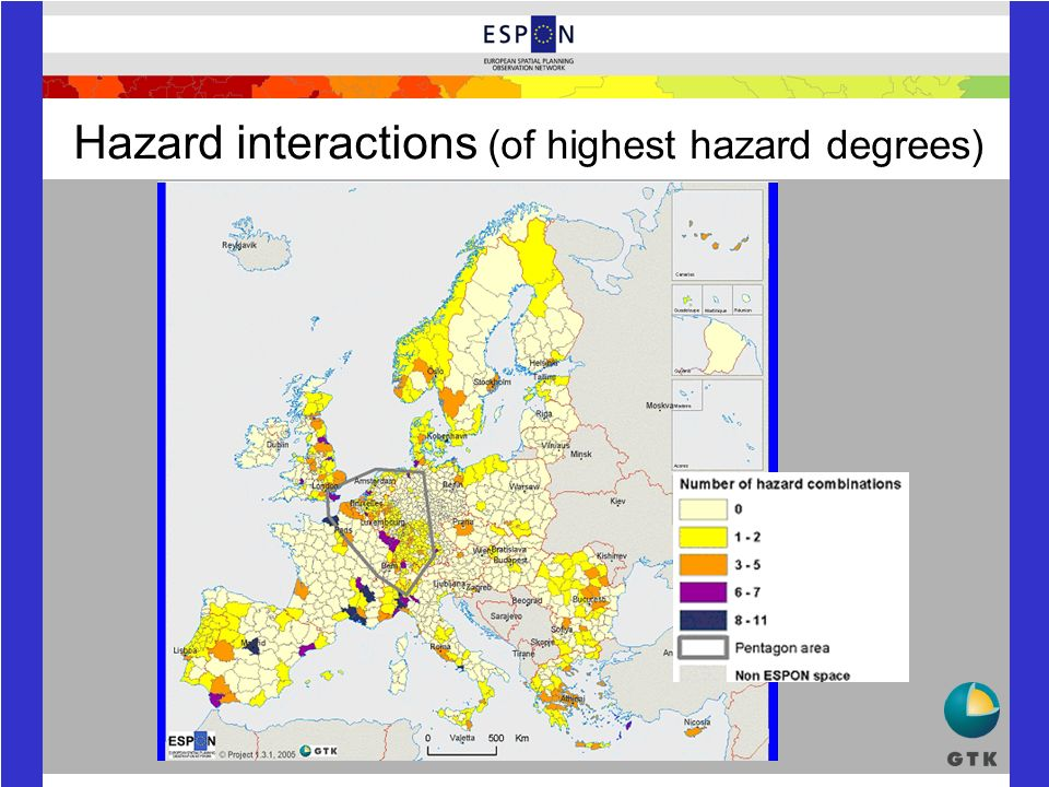 Hazard interactions (of highest hazard degrees)