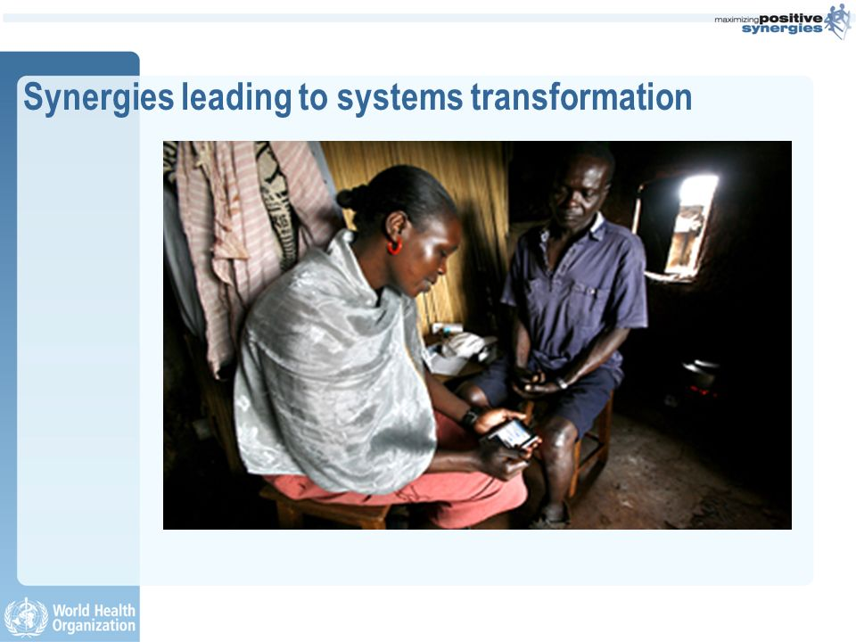 Synergies leading to systems transformation