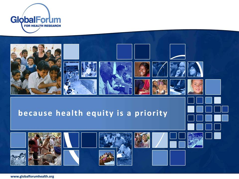because health equity is a priority