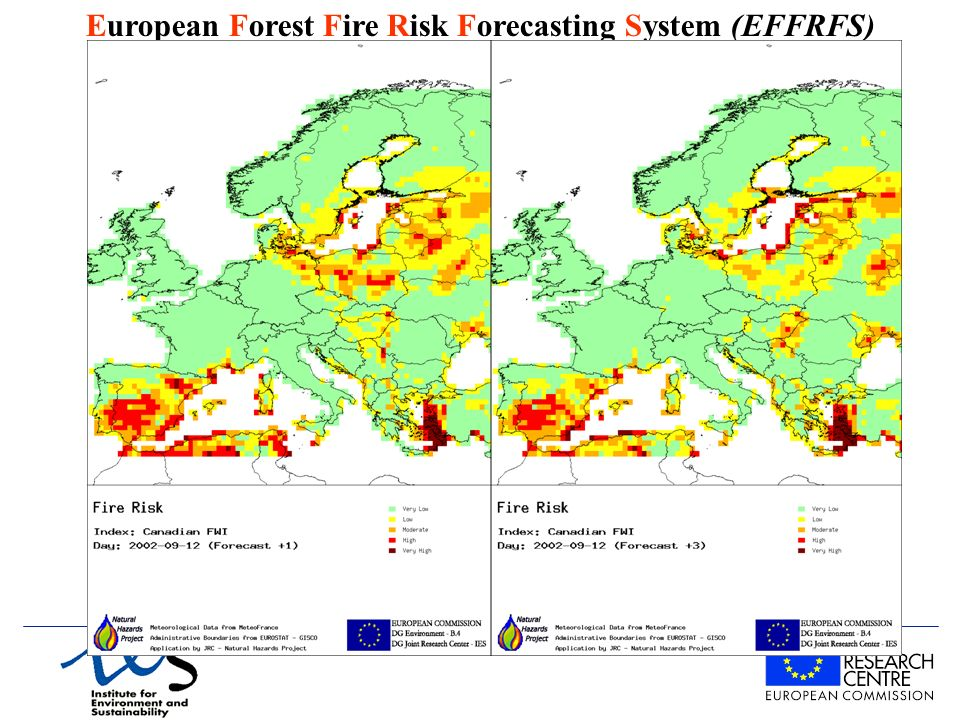European Forest Fire Risk Forecasting System (EFFRFS)