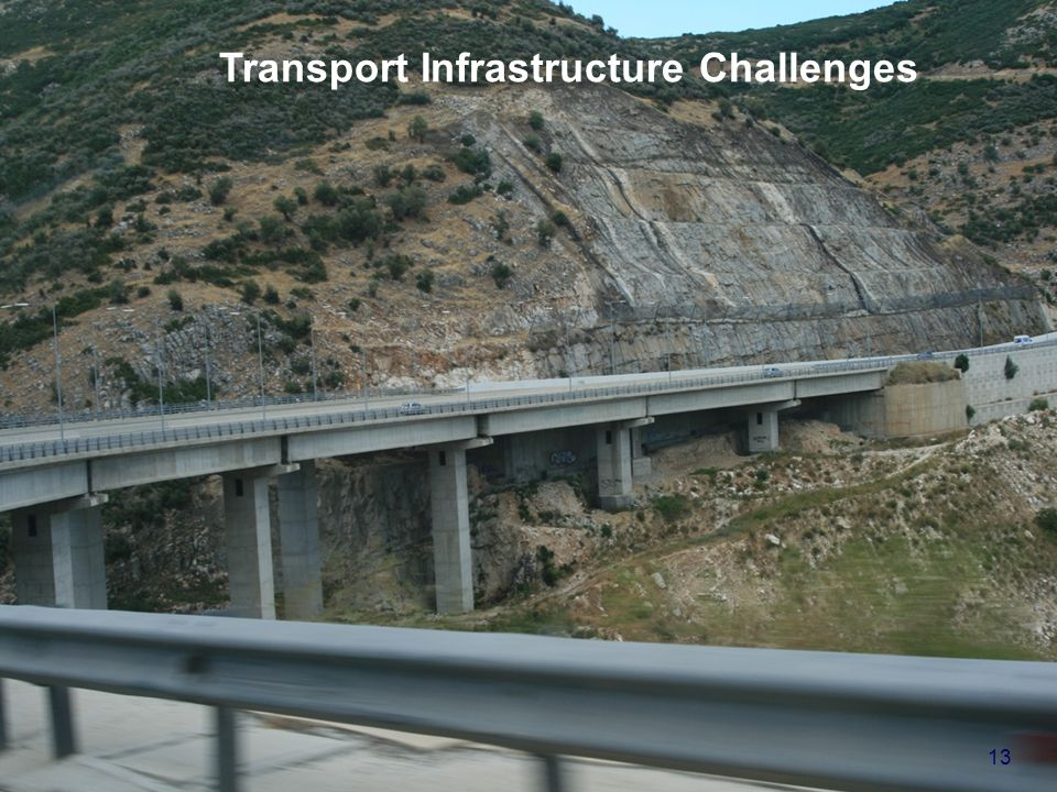 United Nations Economic Commission for Europe - Transport Division Transport Infrastructure Challenges 13
