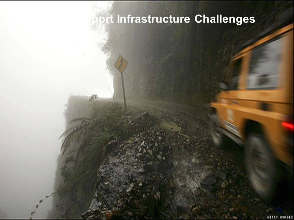 United Nations Economic Commission for Europe - Transport Division Transport Infrastructure Challenges 16