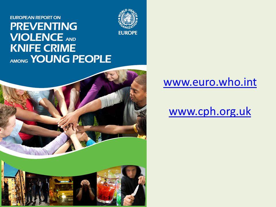 www.euro.who.int www.cph.org.uk