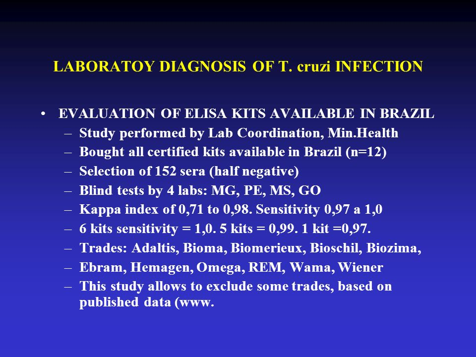 LABORATOY DIAGNOSIS OF T.