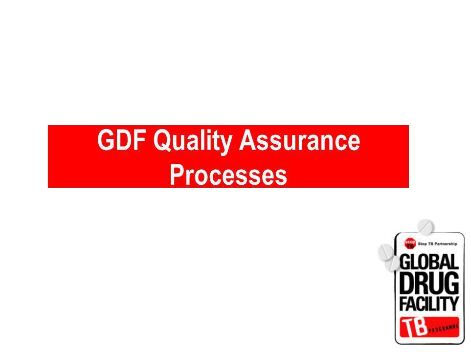 GDF Quality Assurance Processes