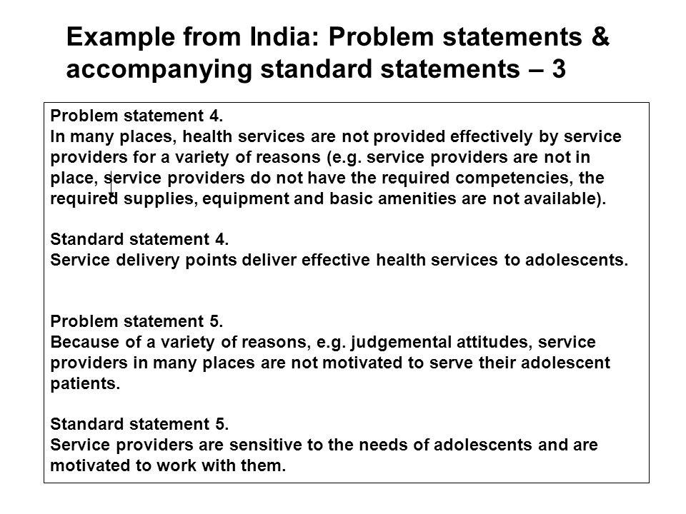 Problem statement 4.