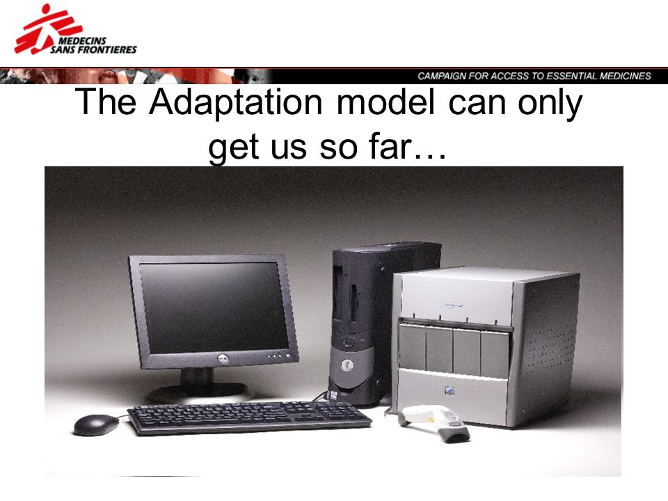The Adaptation model can only get us so far…