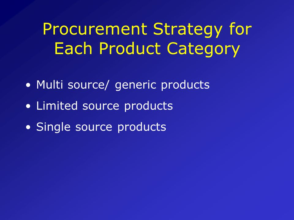 Assessing the robustness of Procurement Planning (Cont.) Procurement Scheduling When are goods and services needed ? Was a time frame prepared, workin