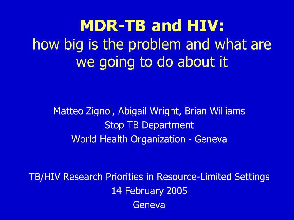 Reasons why DR prevalence could be higher among HIV infected TB patients 1.Immunosuppression and drug pressure affect fitness Ordway DJ et al.