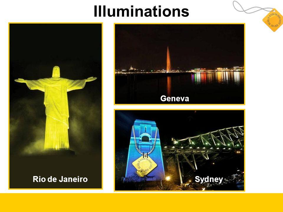 Illuminations Geneva SydneyRio de Janeiro