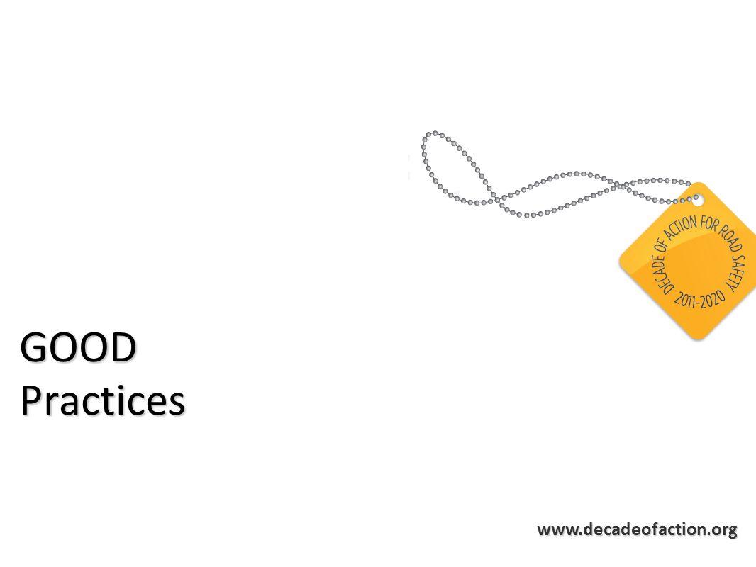 www.decadeofaction.org GOODPractices