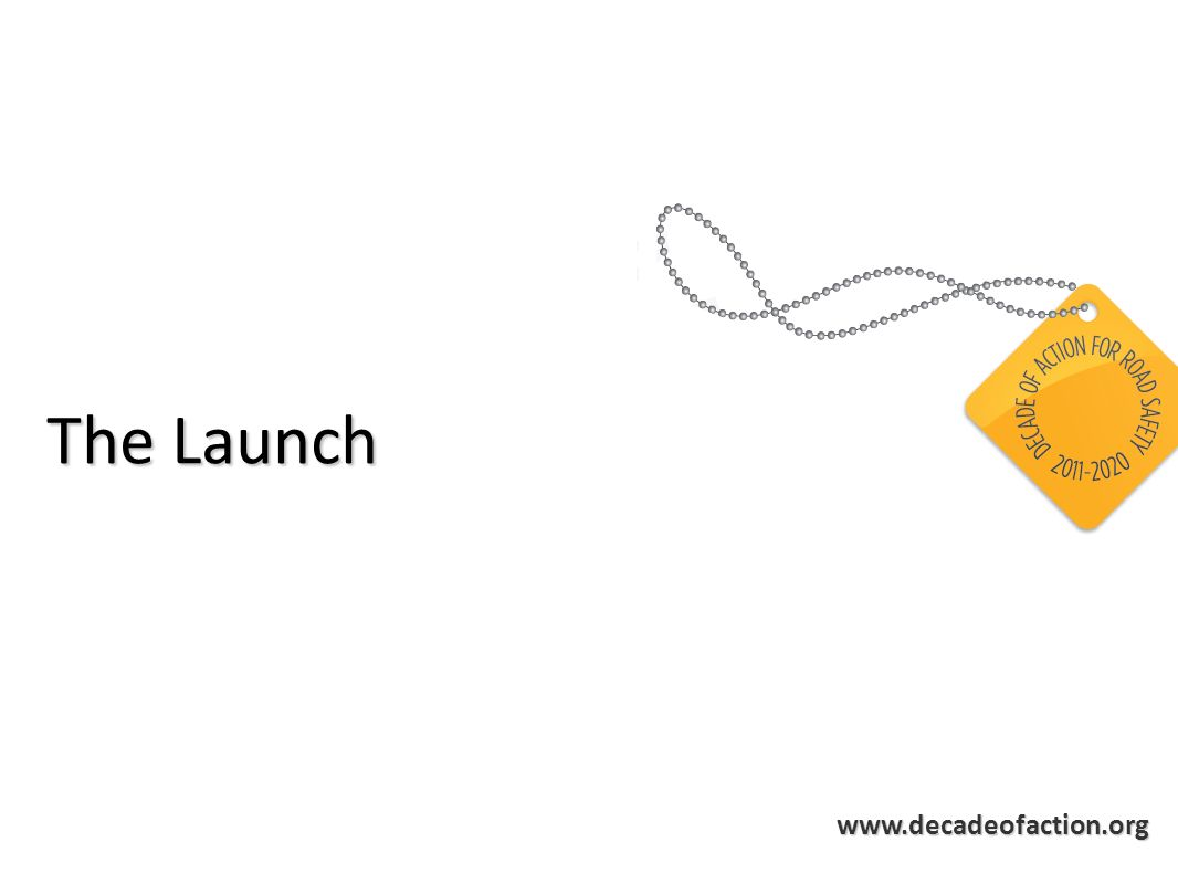 www.decadeofaction.org The Launch