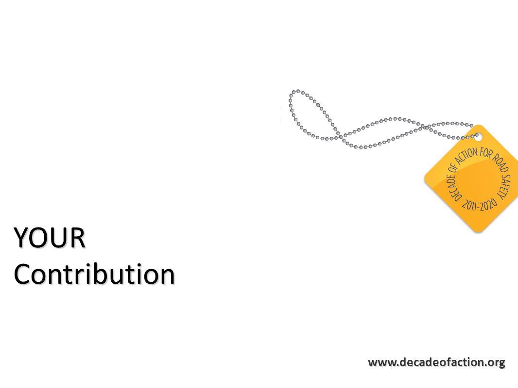 www.decadeofaction.org YOURContribution