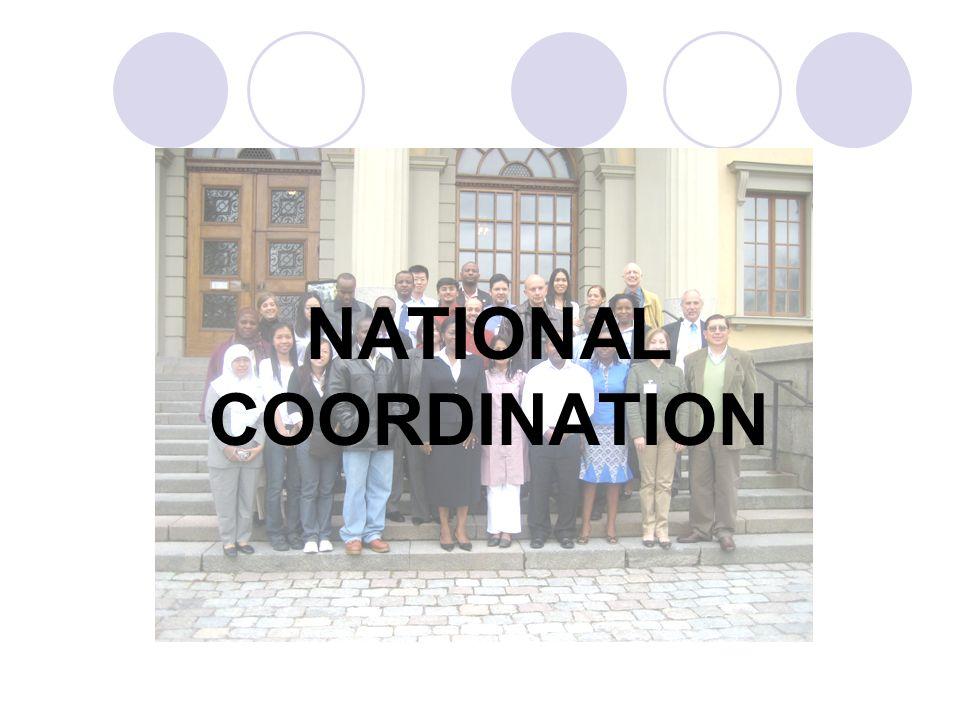NATIONAL COORDINATION